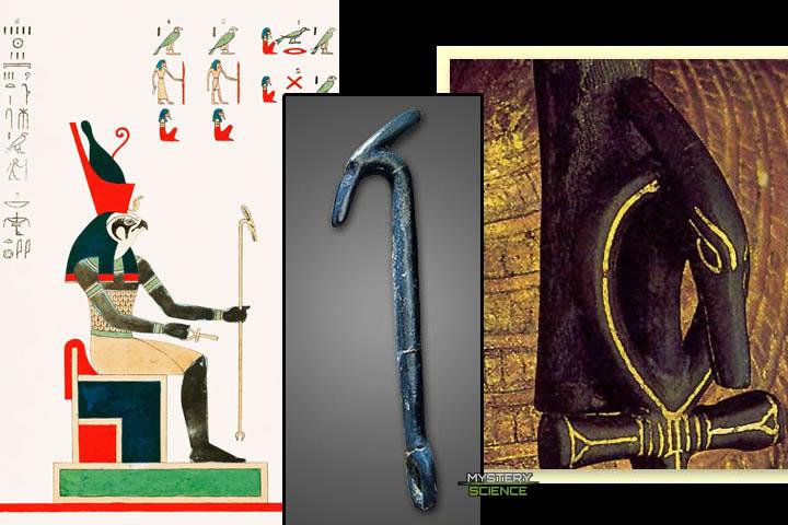 Horus y el cetro Uas