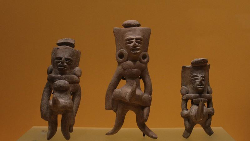 Jugadores de juegos de pelota azteca