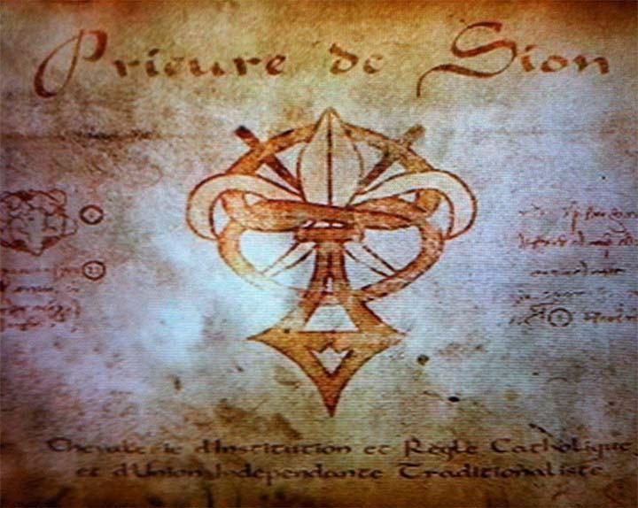 Símbolo del Priorato de Sión