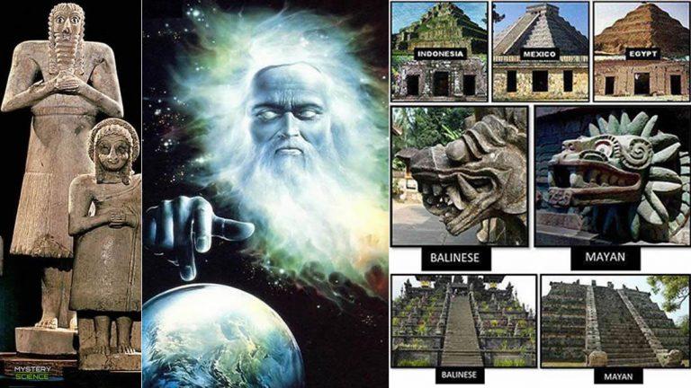 Rasgos comunes entre civilizaciones antiguas separadas por grandes distancias