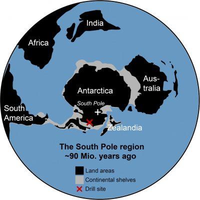 La Antártida fue una selva tropical