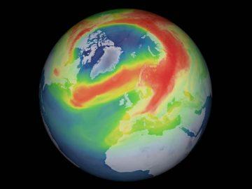 El agujero en la capa de ozono más grande detectado en el Ártico se ha cerrado