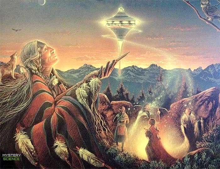 OVNI observado por nativos norteamericanos