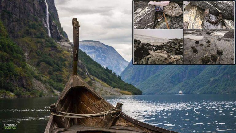 Objetos vikingos antiguos son descubiertos debido al deshielo de un glaciar