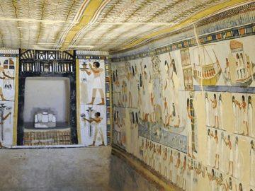 Ahora puedes visitar virtualmente las salas faraónicas de Egipto