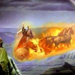 El Profeta Elías, sus habilidades paranormales y su presunta abducción por un OVNI antiguo