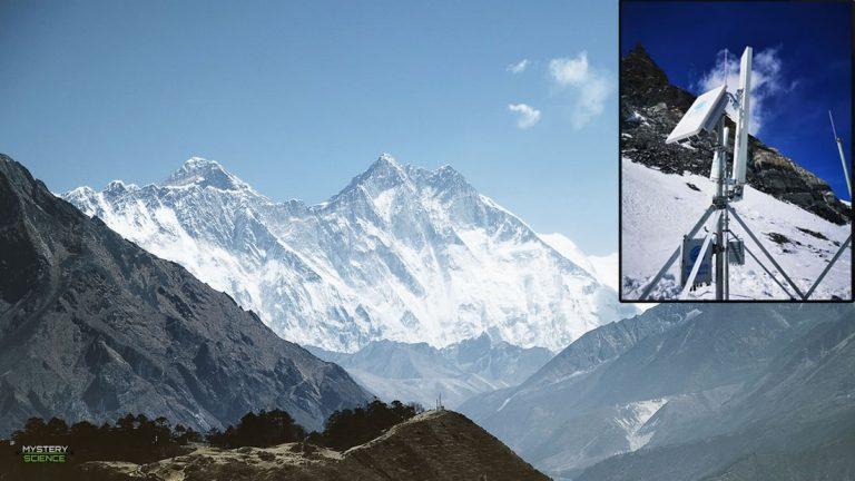China instala antena 5G en el monte Everest