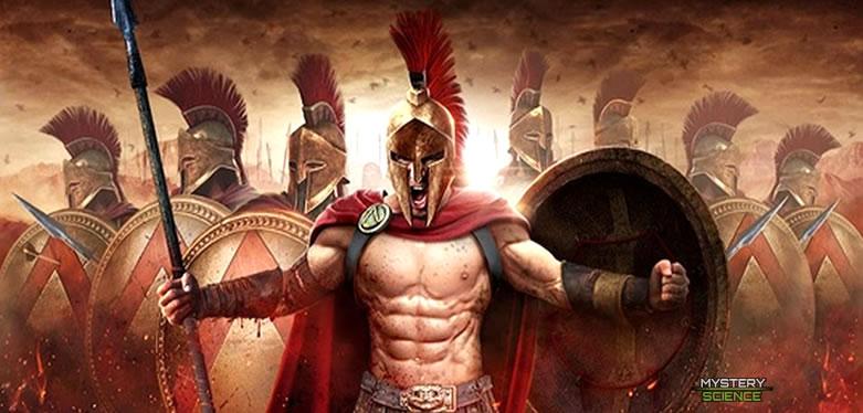 Entrenamiento de un guerrero espartano