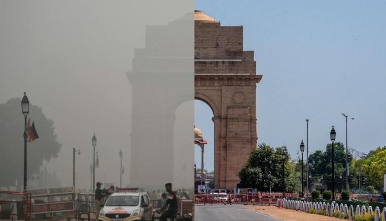 India contaminación atmosférica