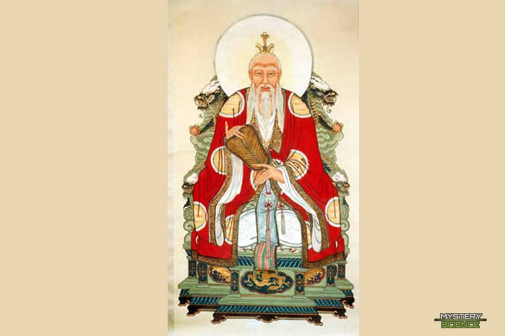 Laozi, filósofo chino que habría vivido 160 años
