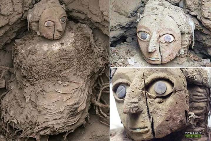 Momia Wari y su máscara