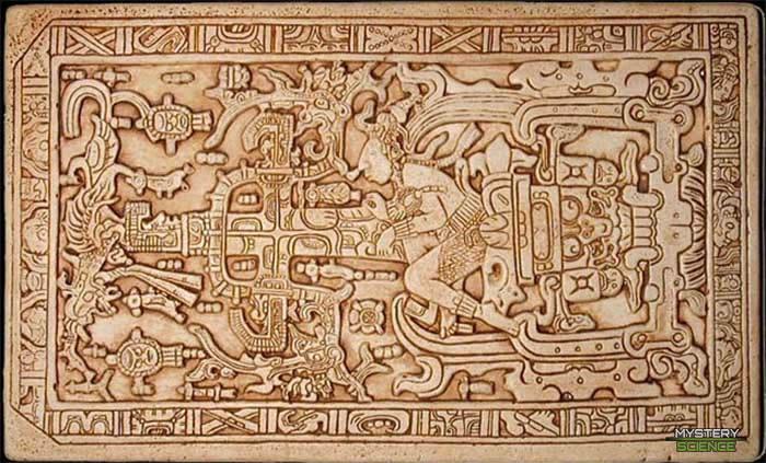 Tapa de la tumba de Pakal