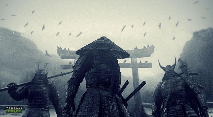 Samurai guerreros japoneses