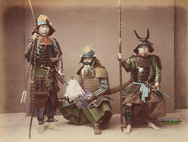 Samuráis de los años 1880