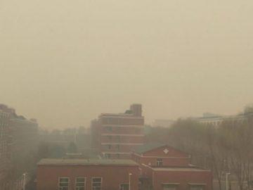 La contaminación vuelve a China, tras el levantamiento de la cuarentena