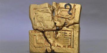 Descubren un sello imperial de oro y numerosas reliquias en China