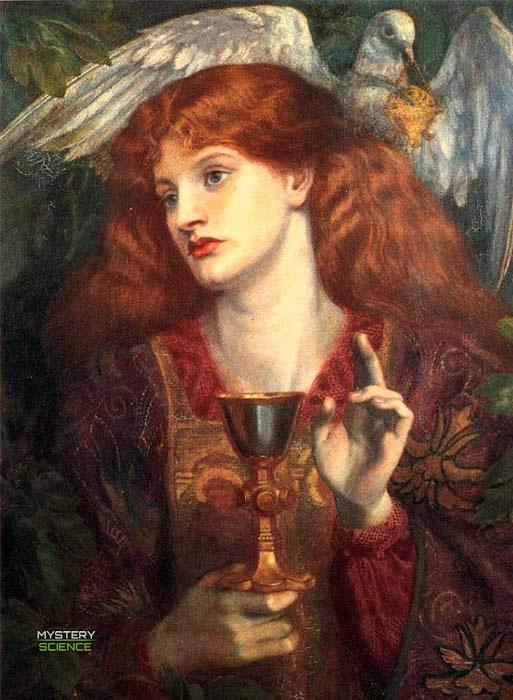 La damisela del santo gria