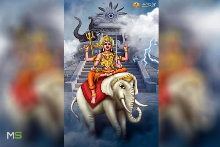 Vajra: «arma de rayos» de Indra