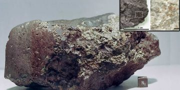 Descubren nitrógeno en un meteorito proveniente de Marte
