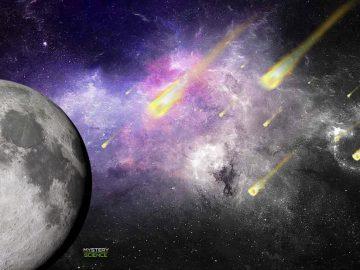 Confirman la colisión de más de cien asteroides contra la Luna