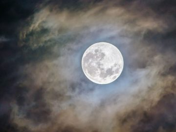 La razón por la que la Luna 'desapareció' en el año 1110