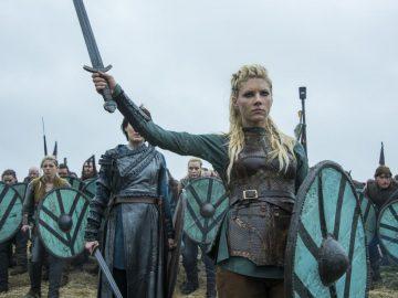 Las poderosas guerreras vikingas