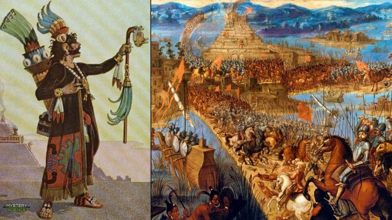Ocelotl, el sacerdote azteca que predijo la tragedia de la Conquista española