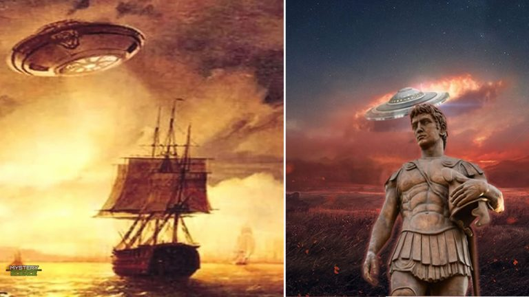 OVNIs en la antigüedad vistos por personajes históricos
