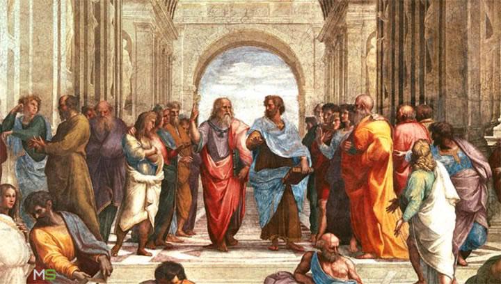 Platón y Aristóteles