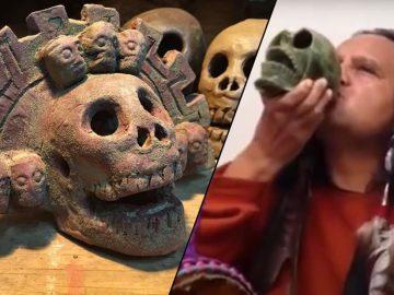 El silbato de la muerte de los Aztecas: el Ehecachichtli y su sonido atronador