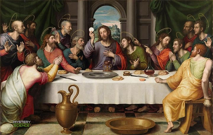 La última cena pintura