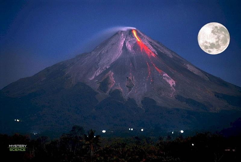 Eclipses lunares totales relacionados con erupciones volcánicas