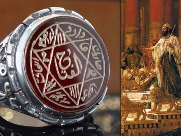 El enigma del anillo de poder del Rey Salomón: artefacto de origen celestial