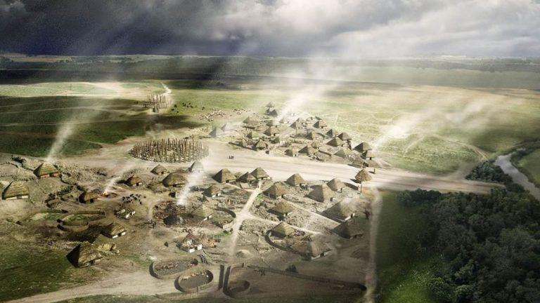 Encuentran un enorme círculo neolítico cerca de Stonehenge