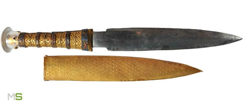 Daga de hierro de Tutankamón