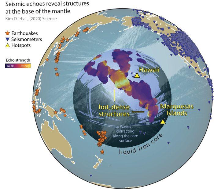 Descubren dentro de la Tierra estructuras inesperadas