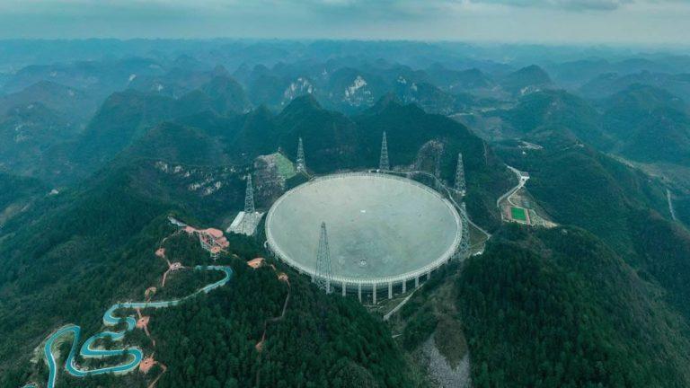 Radiotelescopio más grande del mundo buscará civilizaciones extraterrestres