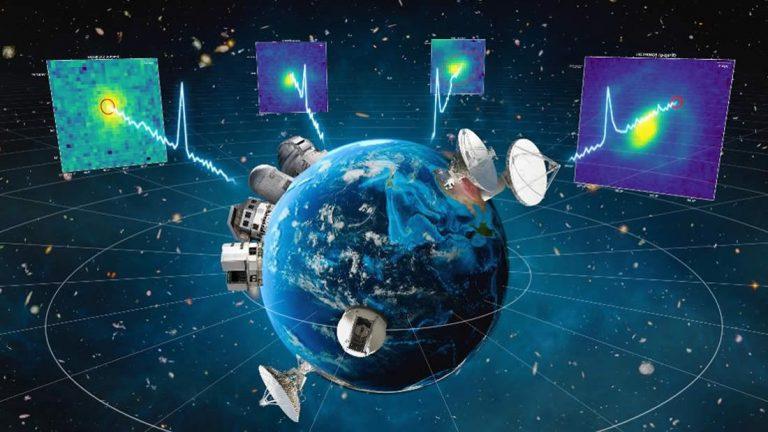 Descubren que cuatro radioseñales captadas provienen de galaxias como la nuestra