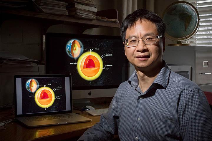 Geólogo Xiaodong Song
