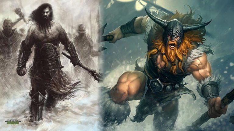 Berserkers: Hermandad de feroces guerreros vikingos