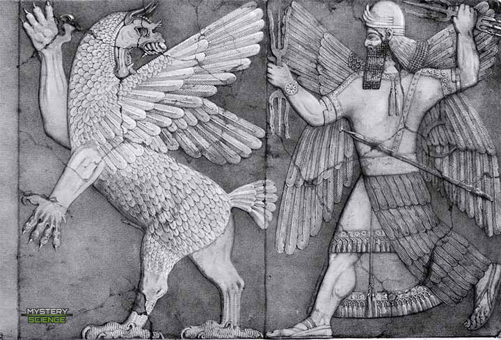 Marduk contra Tiamat