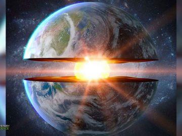 Científicos detectan estructuras gigantes cerca del núcleo de la Tierra