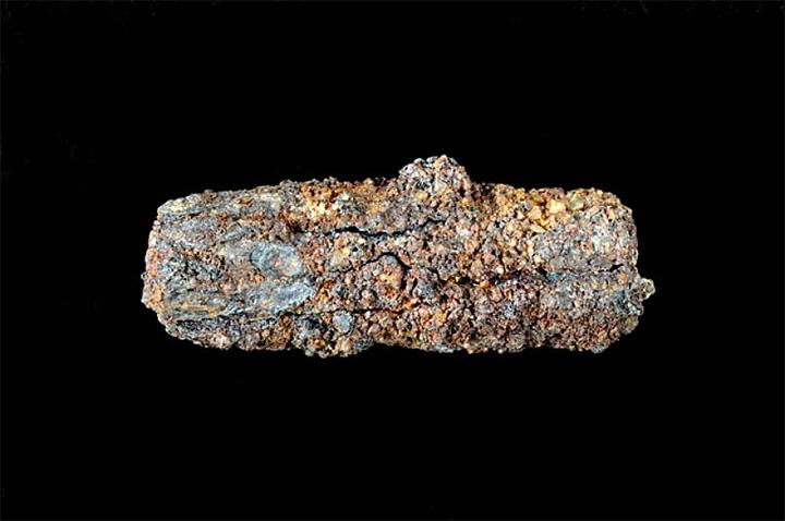 Pieza de hierro de una tumba de la necrópolis de Gerzeh