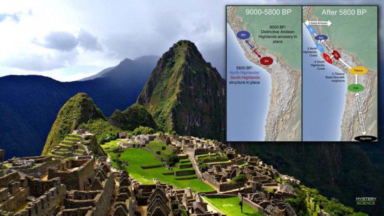 Realizan el primer mapa genético de las civilizaciones andinas precolombinas