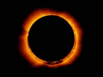 Un raro eclipse con forma de 'anillo de fuego' ocurrirá el 21 de junio