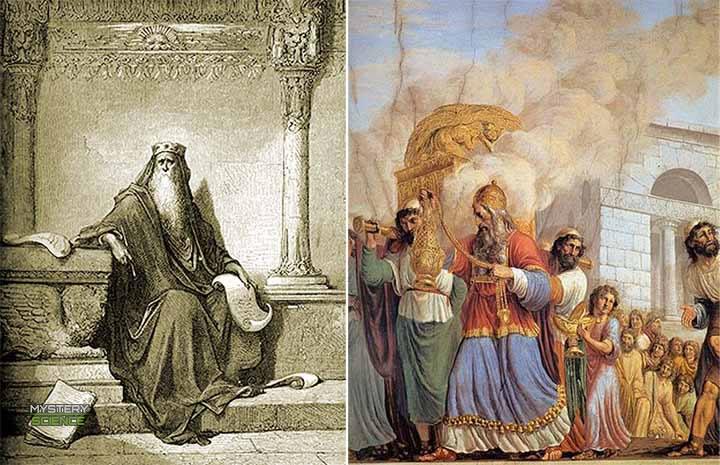 Rey Salomón y el Arca de la Alianza