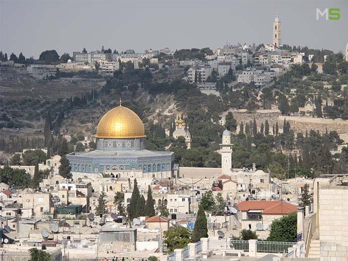 Templo del Domo de la Roca Jerusalen
