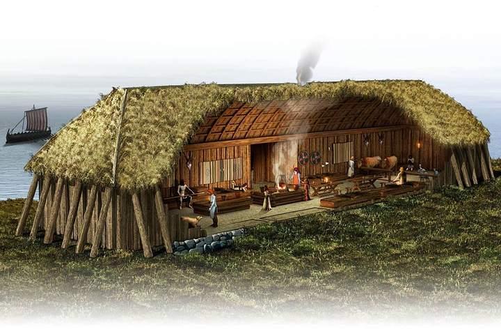 Casa comunal vikinga