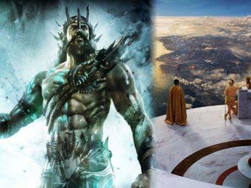 Titanes en el origen del Universo y la rebelión de los dioses griegos