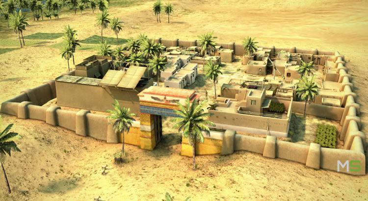 casa de un noble egipcio